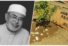 Tapak Semadi Almarhum Tuan Guru Dato Dr. Haron Din ini Membuktikan Kehebatan Allah 5